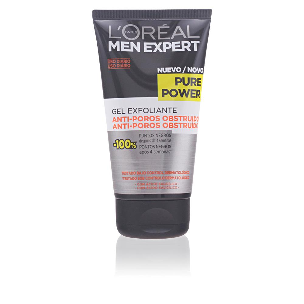 MEN EXPERT pure power cleansing scrub gel