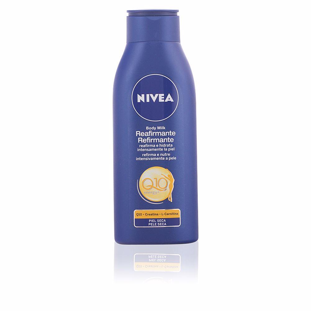 Q10+ reafirmante body milk piel seca