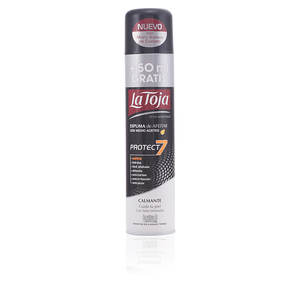 HIDROTERMAL espuma de afeitar protect7