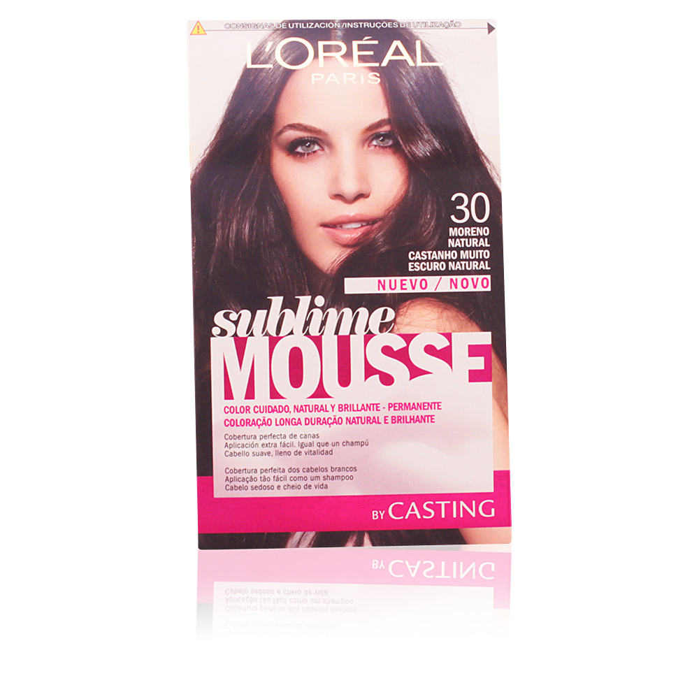 CASTING SUBLIME MOUSSE #300 moreno natural
