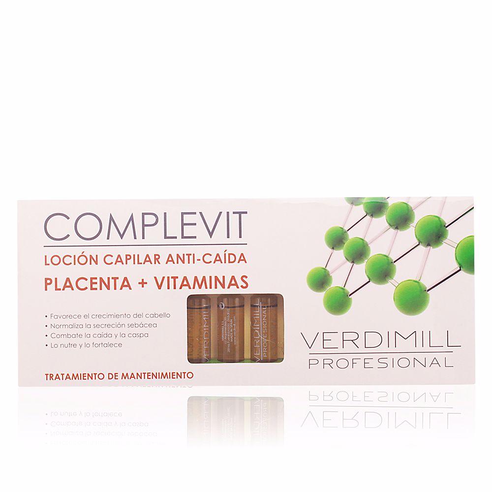 VERDIMILL PROFESIONAL loción capilar anti-caída placenta + vitaminas