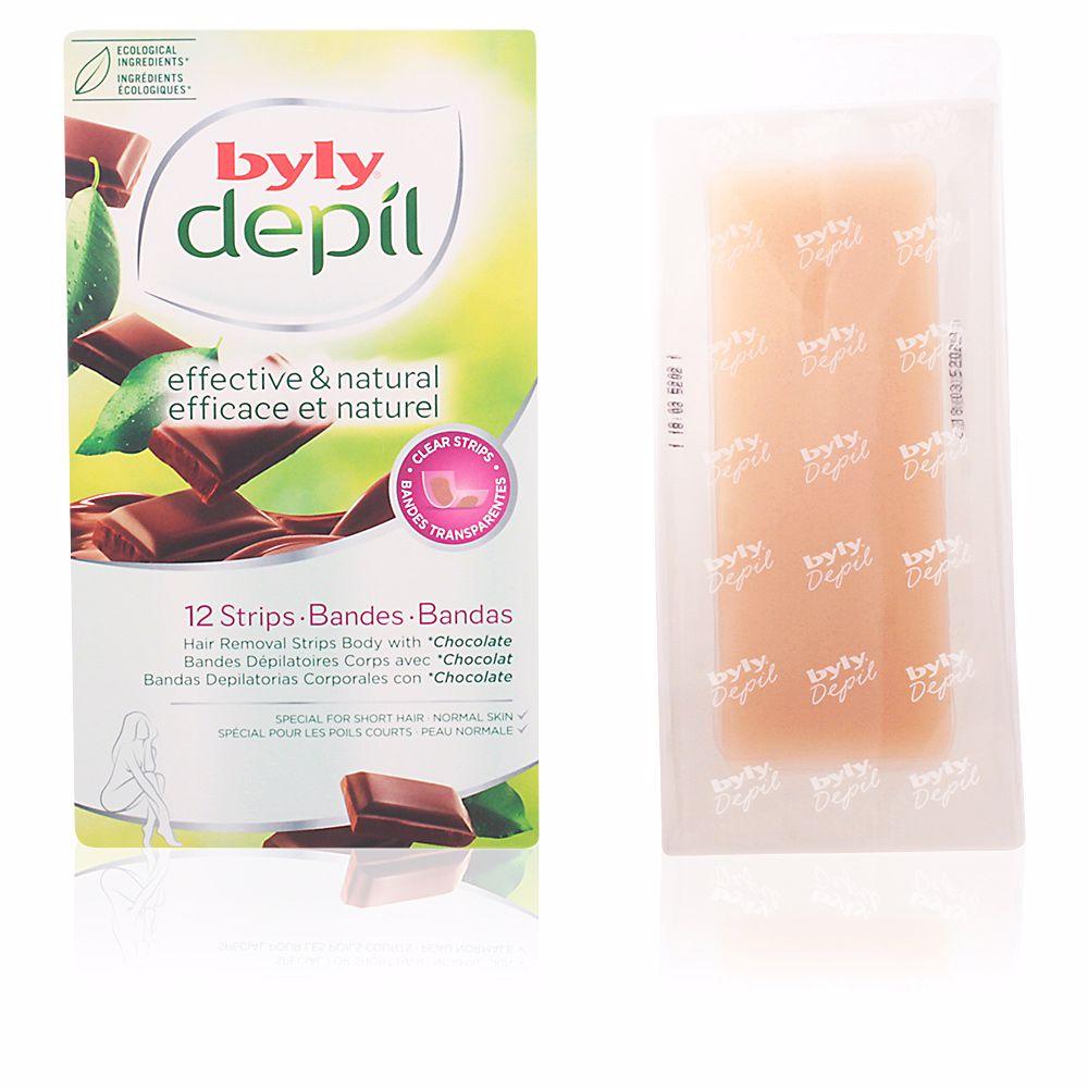 DEPIL bandas corporales chocolate