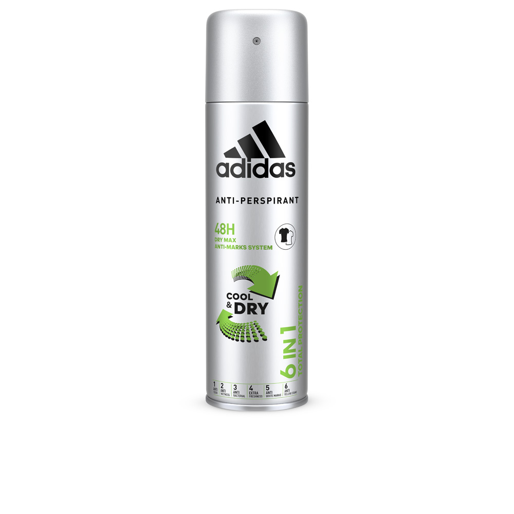 COOL & DRY 6 in 1 48H deodorant spray