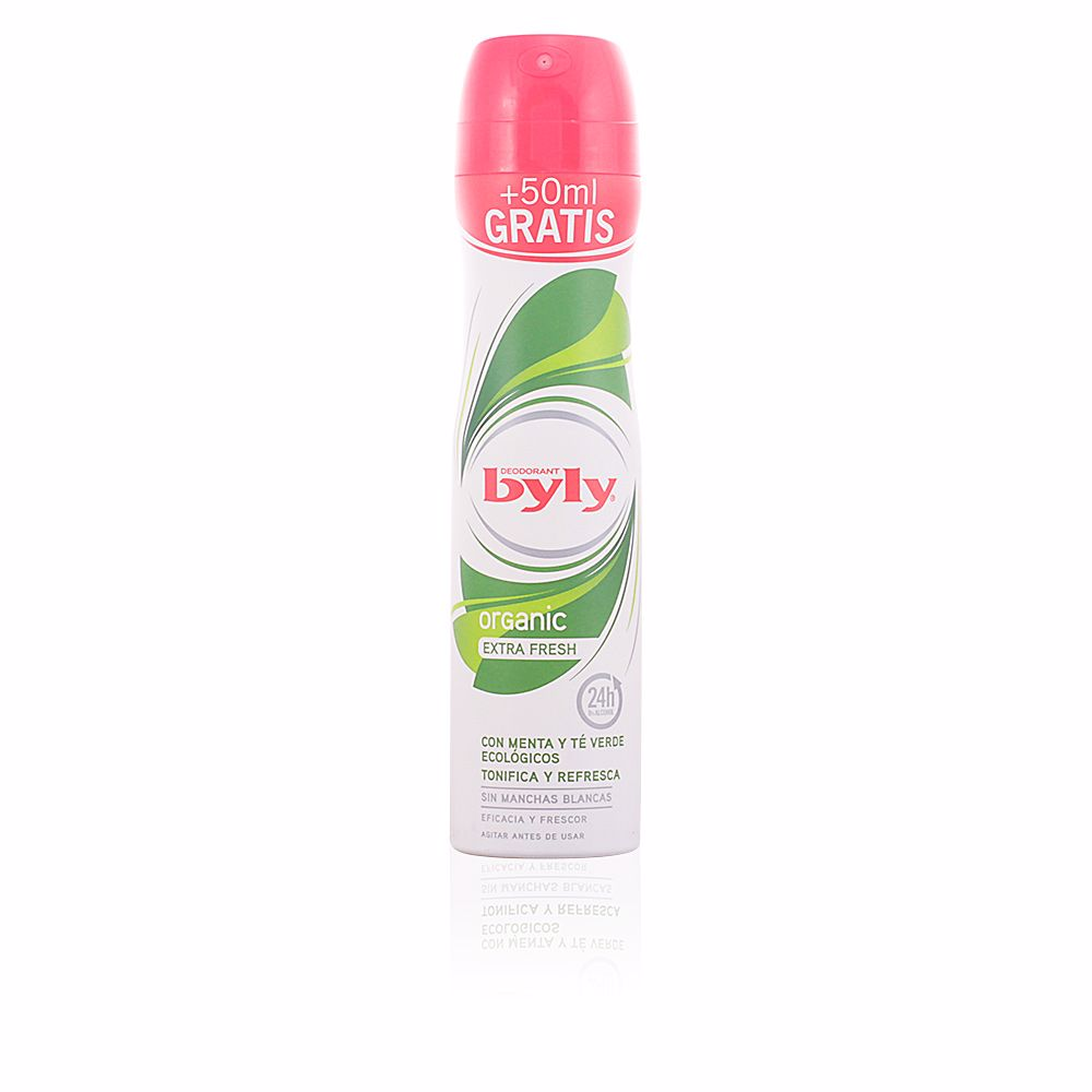 ORGANIC EXTRA FRESH deodorant spray
