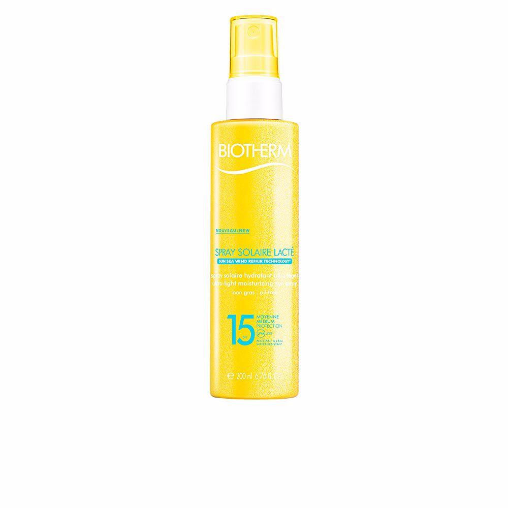 SUN spray solaire lacté SPF15