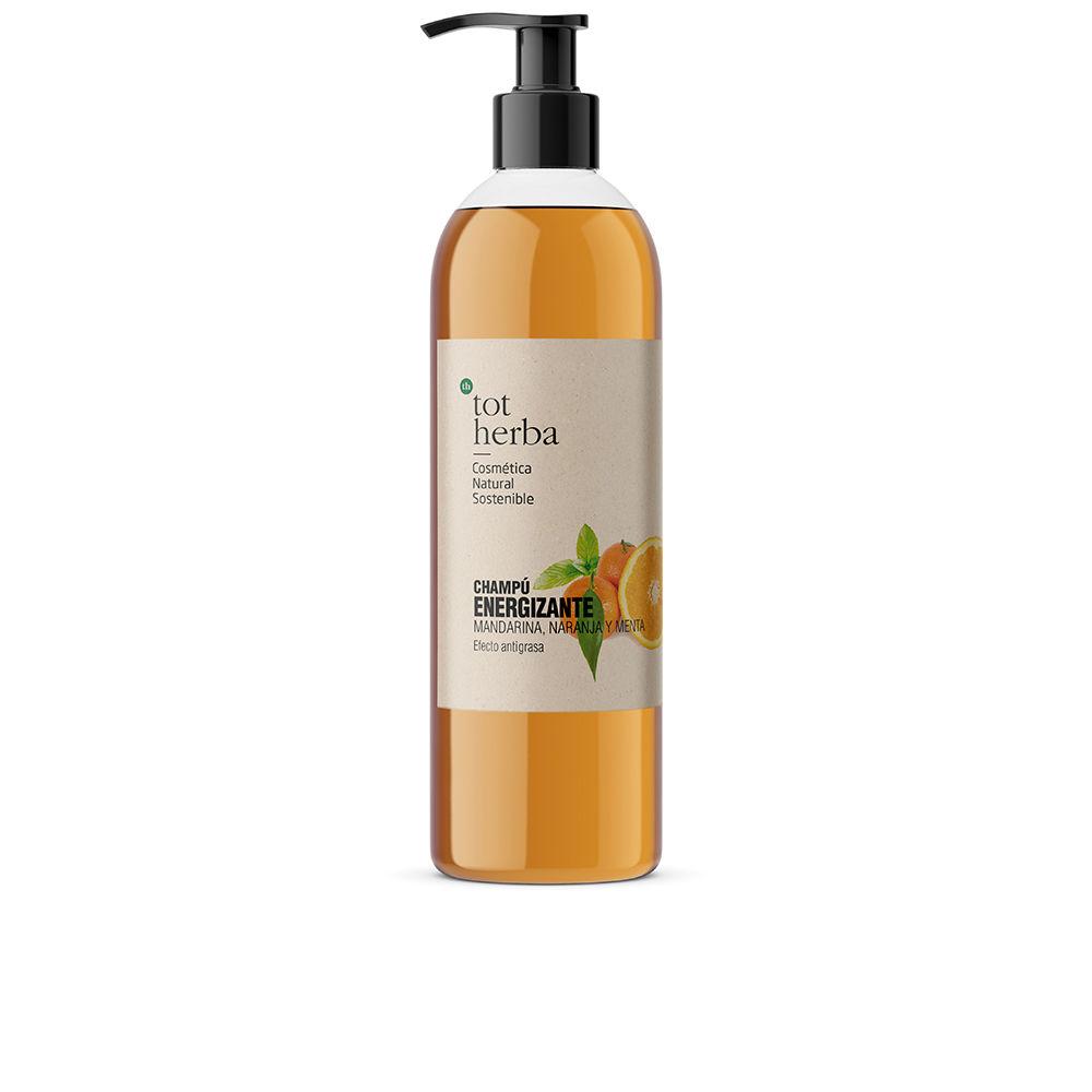 CHAMPÚ ENERGIZANTE mandarina y naranja