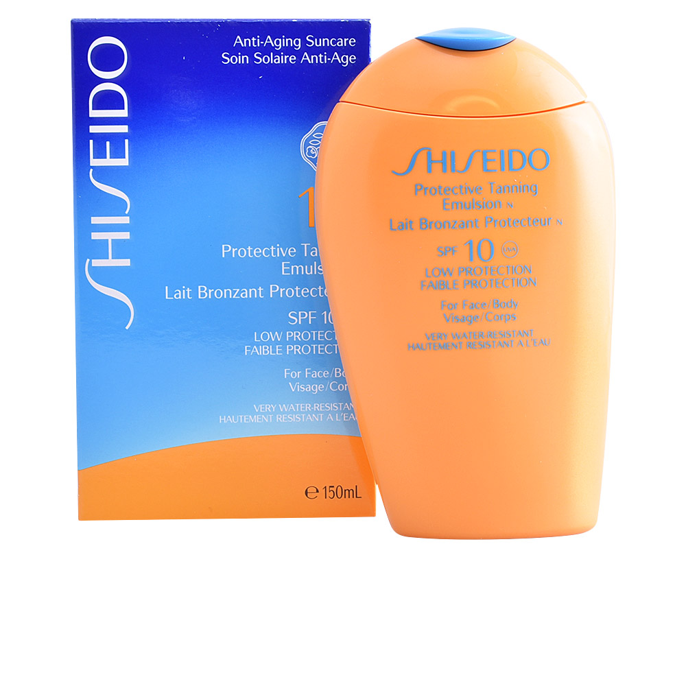 SUN protective tanning emulsion SPF10