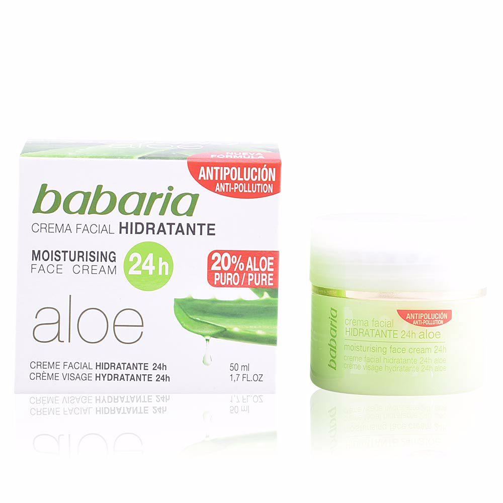 ALOE VERA 24H moisturising face cream