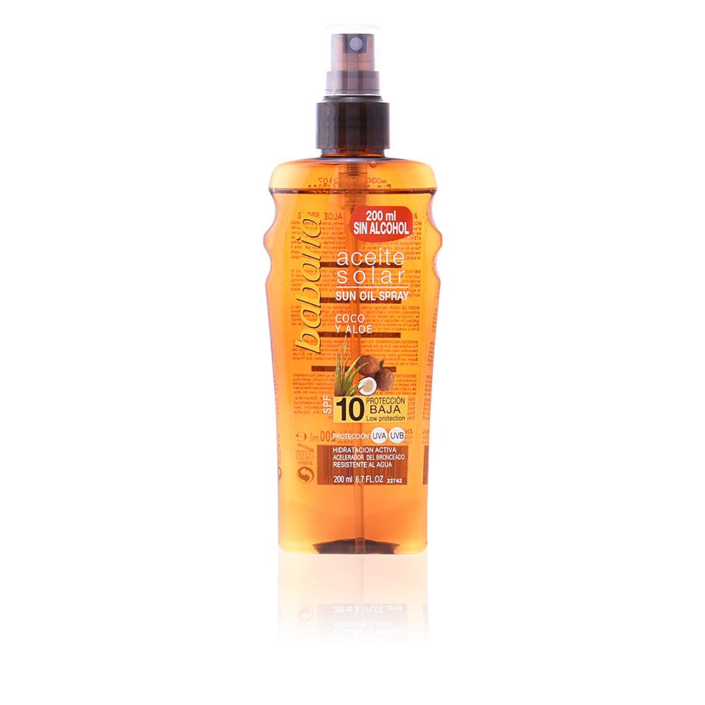 SOLAR ACEITE BRONCEADOR COCO SPF10 spray