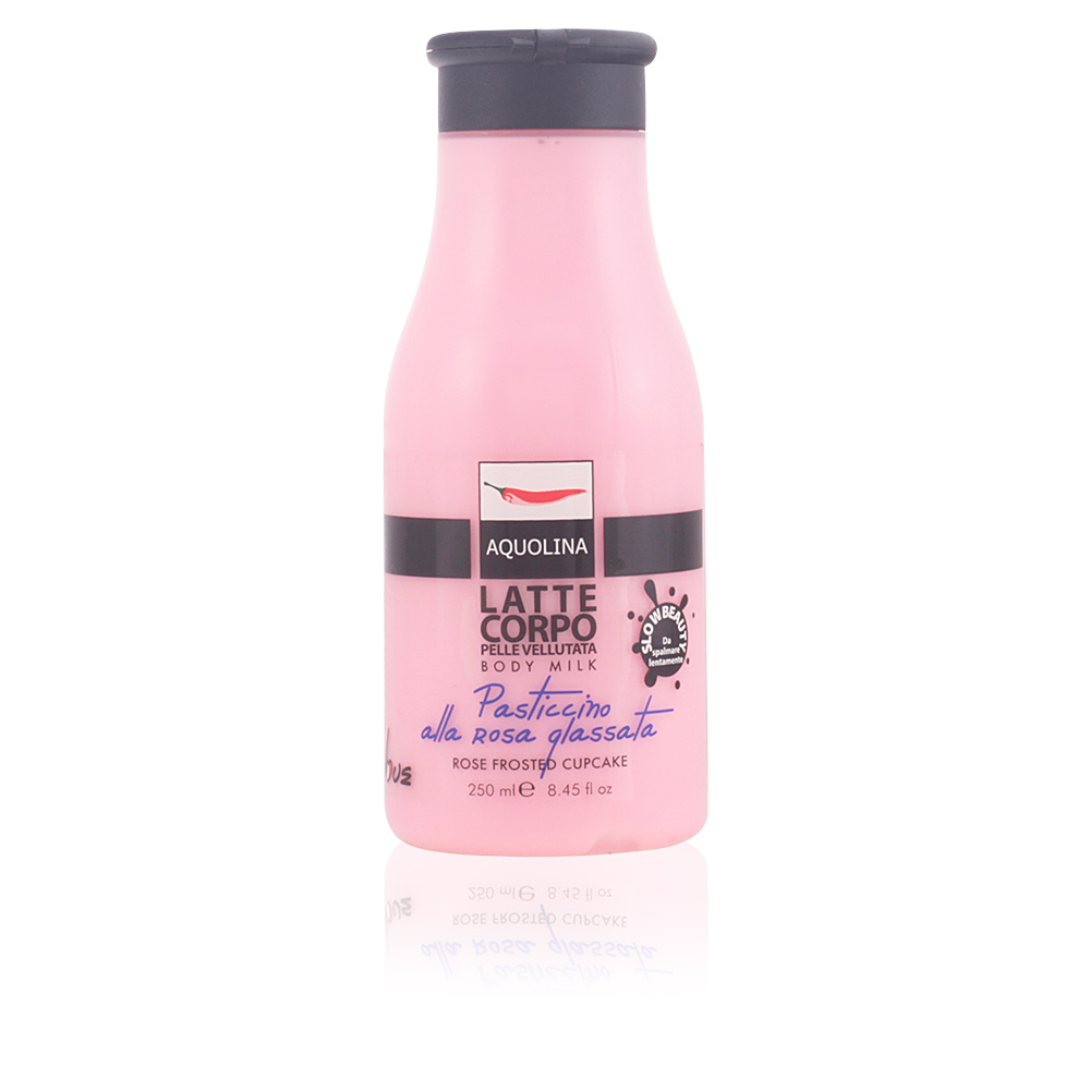 LE GOURMAND body milk #rose frosted cupcake
