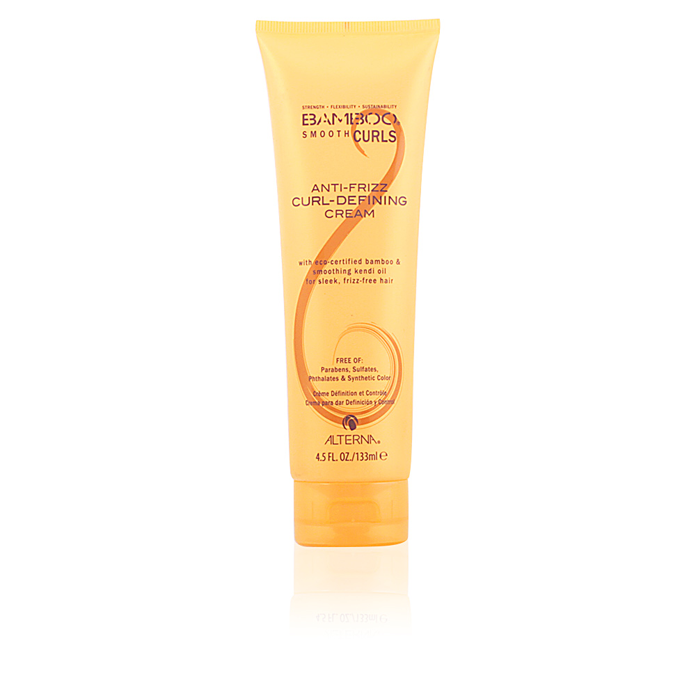 BAMBOO SMOOTH CURLS anti-frizz curl-defining cream