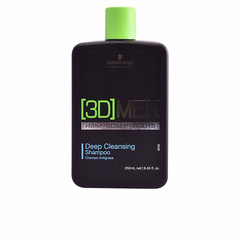 3D MEN deep cleansing shampoo
