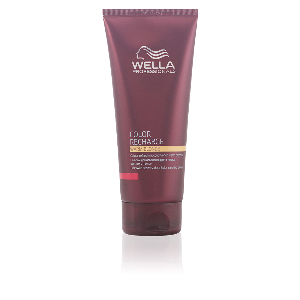 wella cheveux color recharge warm blond conditioner sur perfume 39 s club. Black Bedroom Furniture Sets. Home Design Ideas