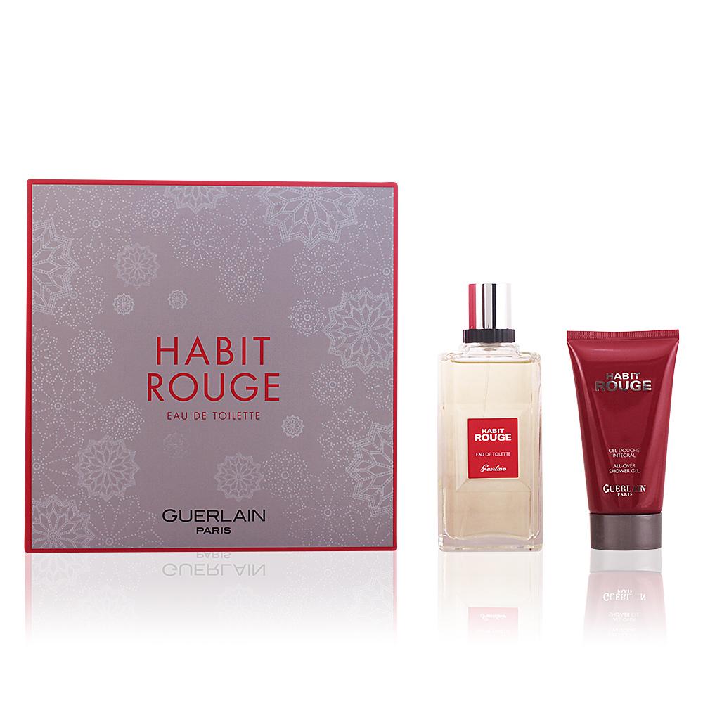 Guerlain Eau De Toilette Habit Rouge Coffret Sur Perfumes Club
