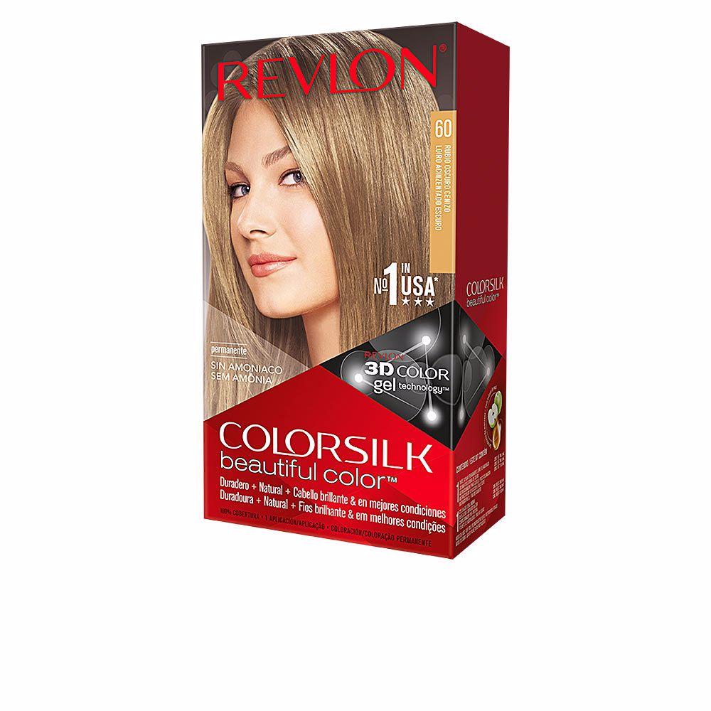 revlon couleurs colorsilk couleur permanente 60 blond cendr fonc sur perfume 39 s club. Black Bedroom Furniture Sets. Home Design Ideas