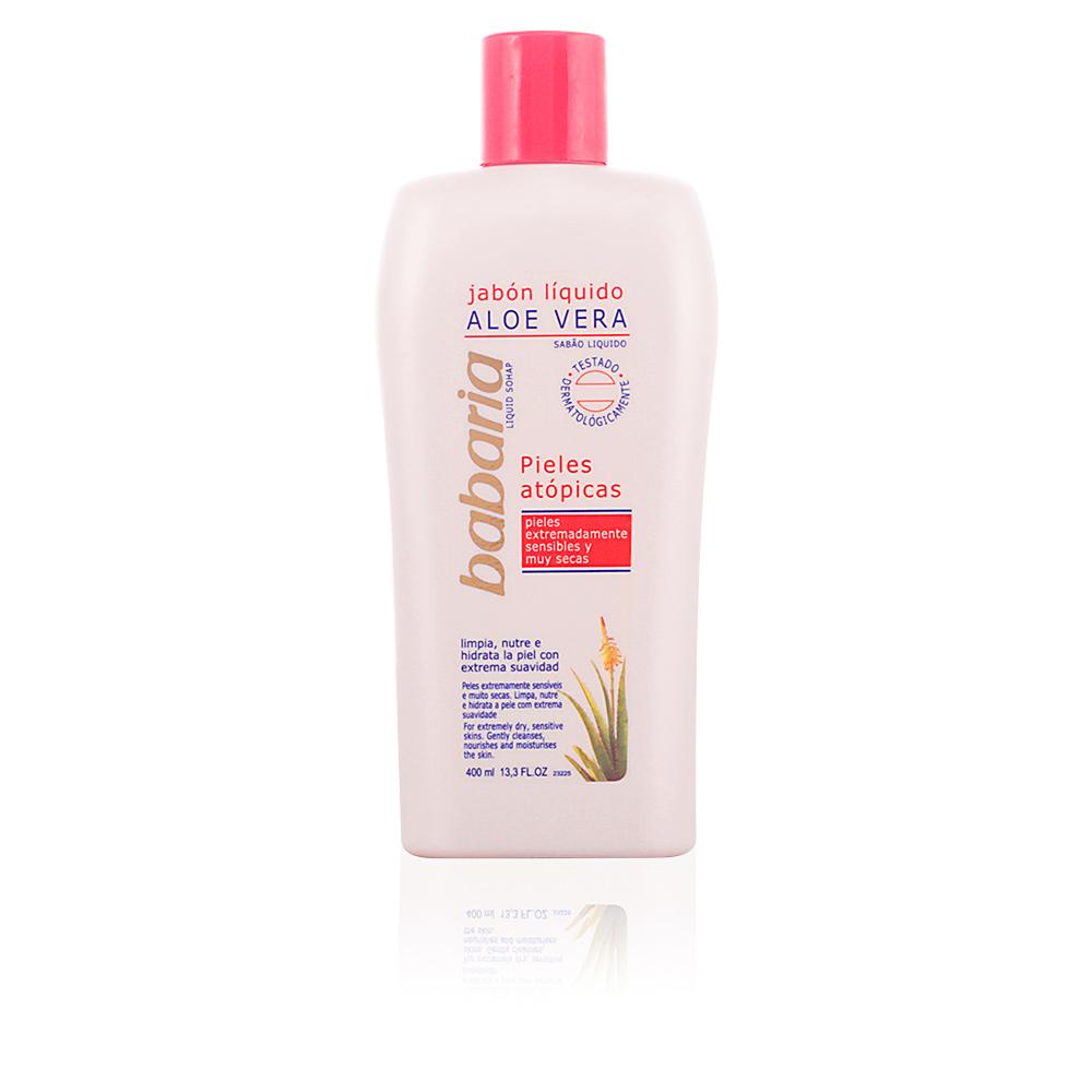 ALOE VERA jabón líquido corporal pieles atópicas