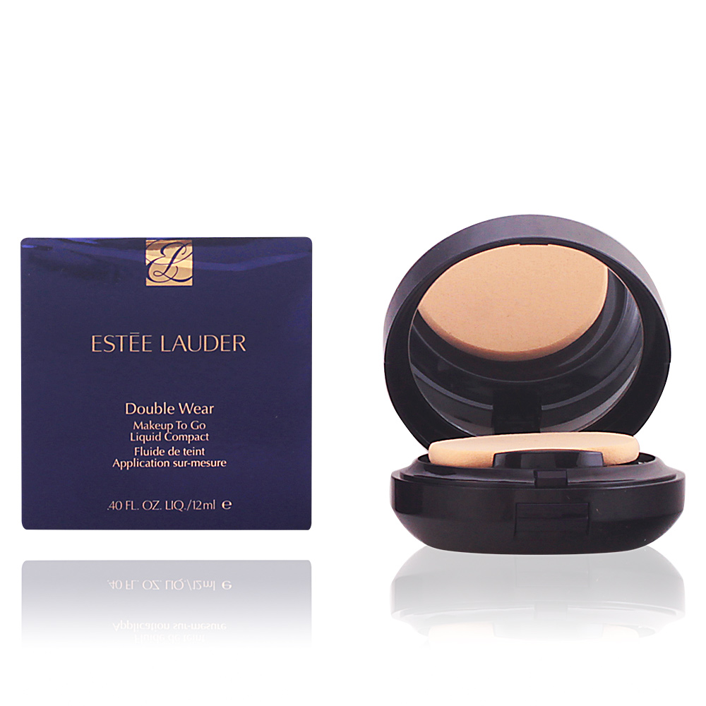 DOUBLE WEAR makeup to go liquid compact