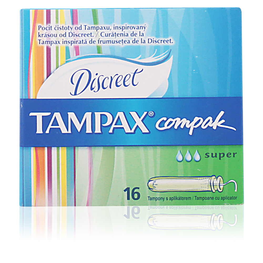 TAMPAX COMPAK tampón super