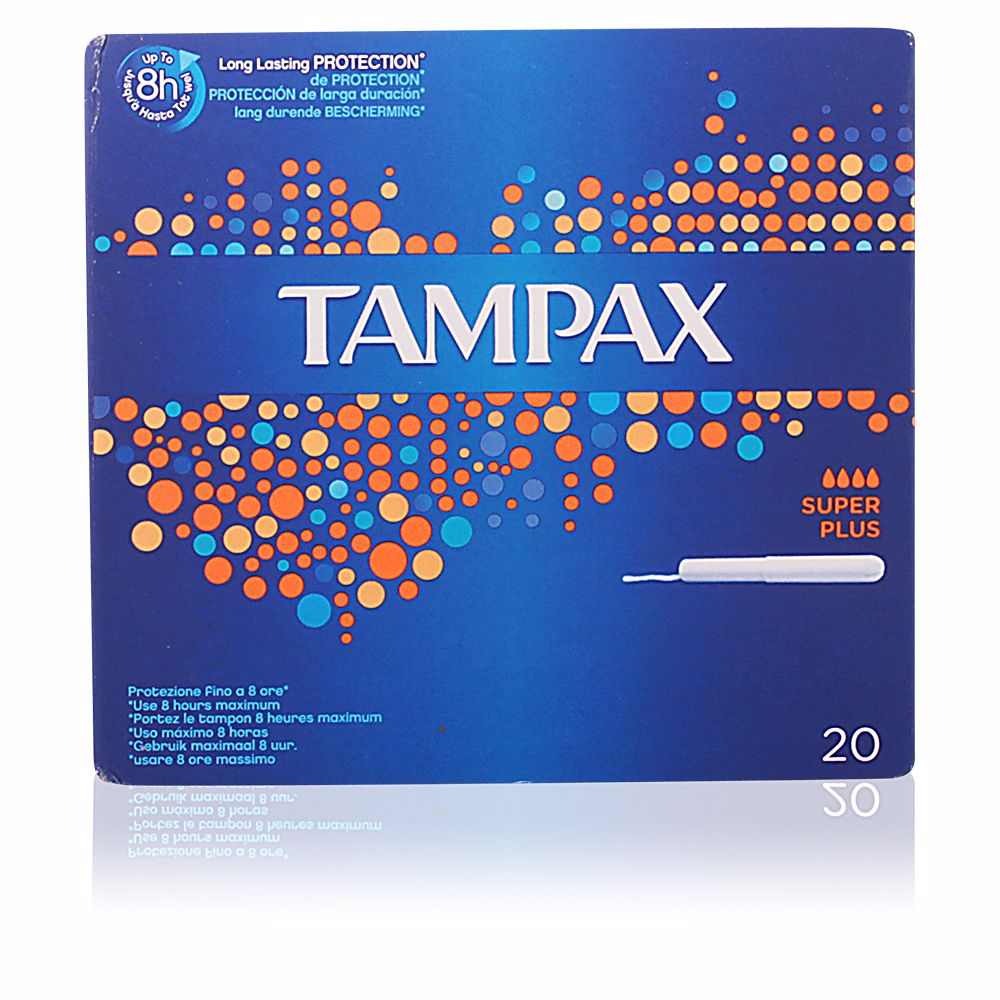 TAMPAX SUPER-PLUS tampón