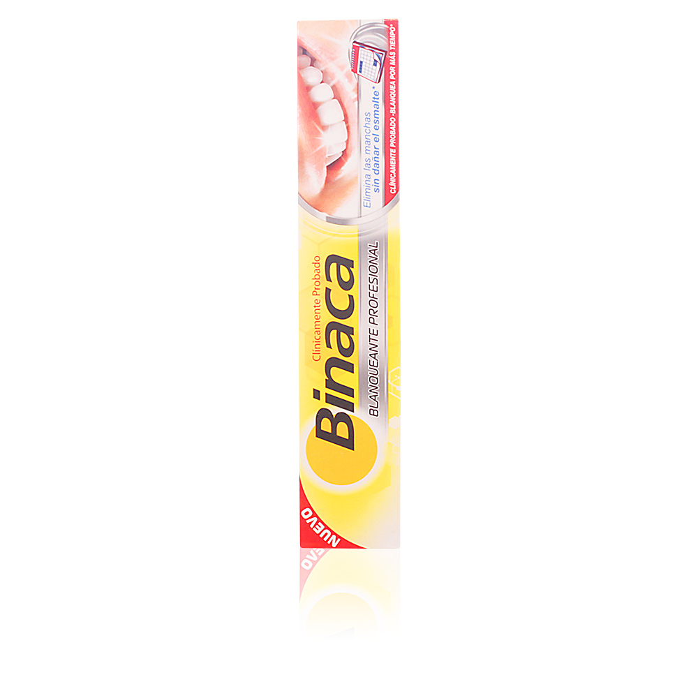 BINACA BLANQUEANTE PROFESIONAL dentífrico