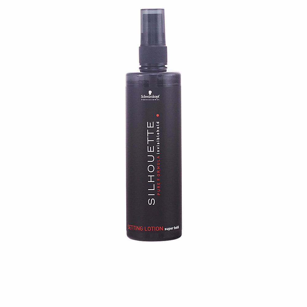 SILHOUETTE setting lotion super hold
