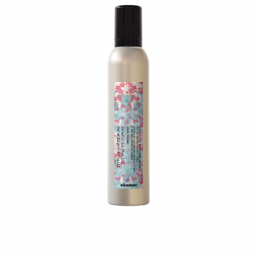 MORE INSIDE curl moisturizing mousse
