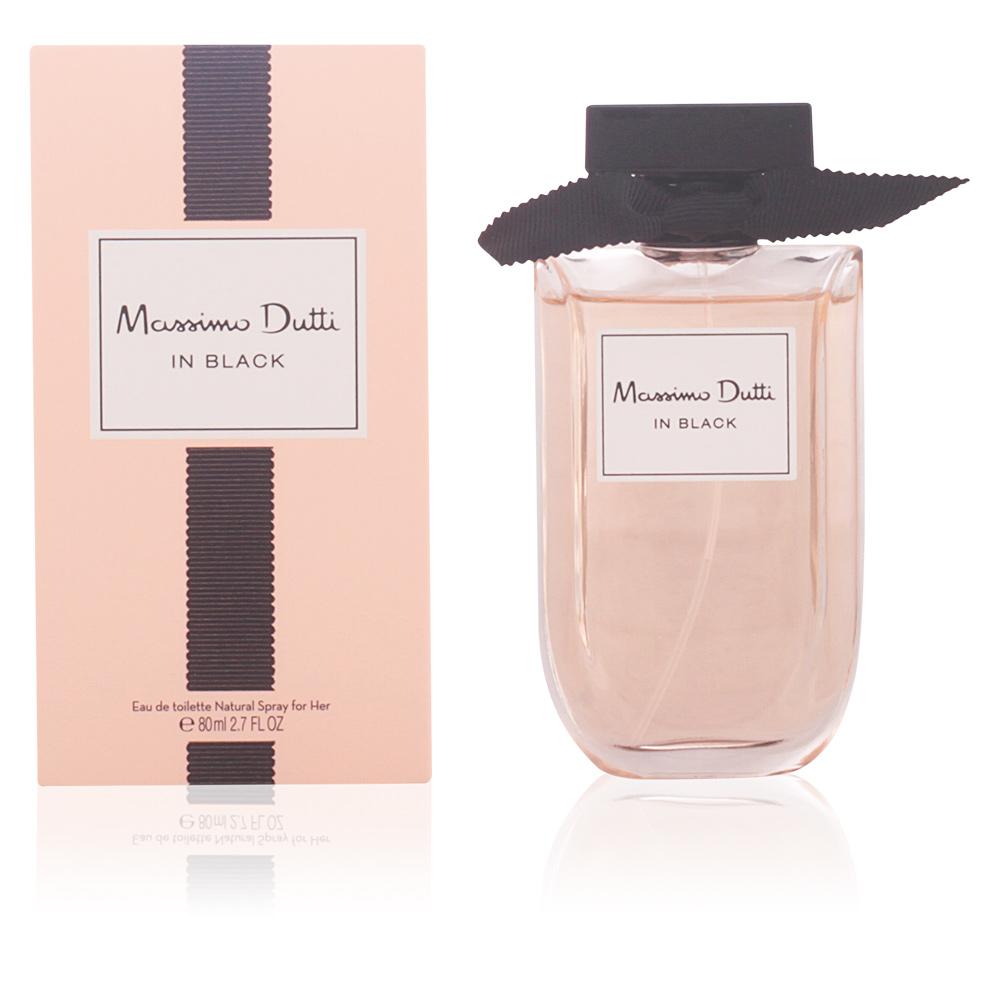 Massimo Dutti MASSIMO DUTTI IN BLACK FOR HER eau de toilette vaporizador  Eau de Toilette em Perfumes Club 4be256d740