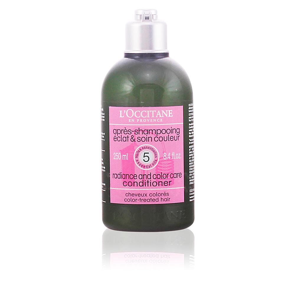 AROMACHOLOGY après-shampooing éclat&couleur bouteille