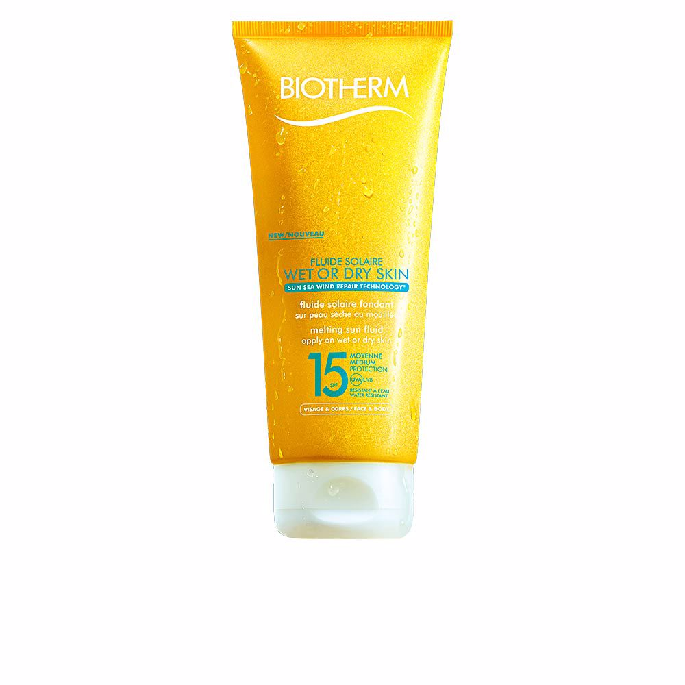 WET OR DRY melting sun fluid SPF15
