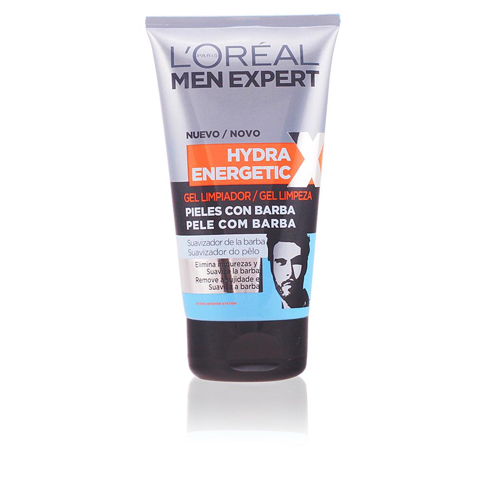 MEN EXPERT hydra energetic gel limpiador piel c/barba