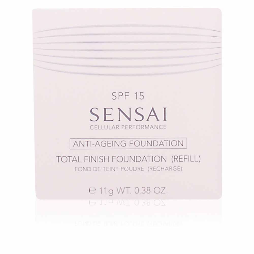 SENSAI CELLULAR PERFORMANCE TOTAL FINISH anti-ageing foundation ricarica