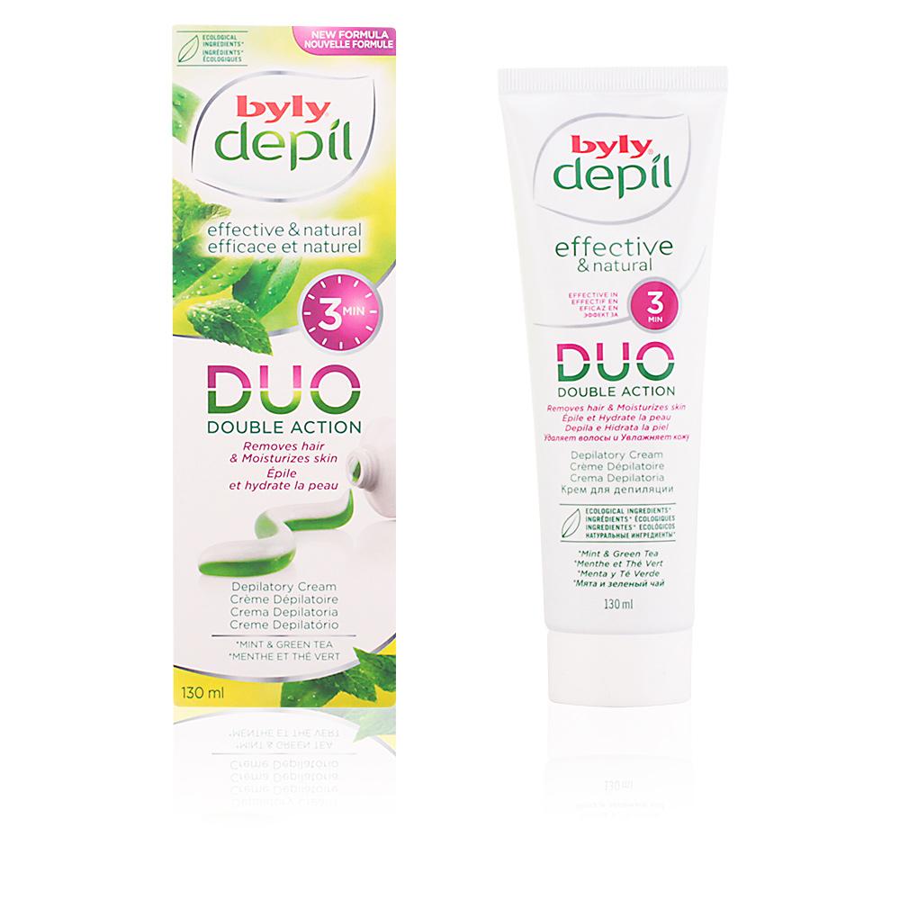 DEPIL DUO crema depilatoria menta y té verde