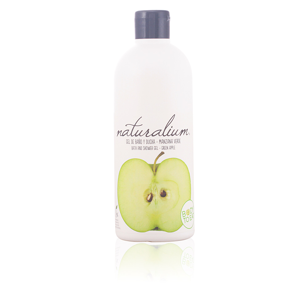 GREEN APPLE bath and shower gel