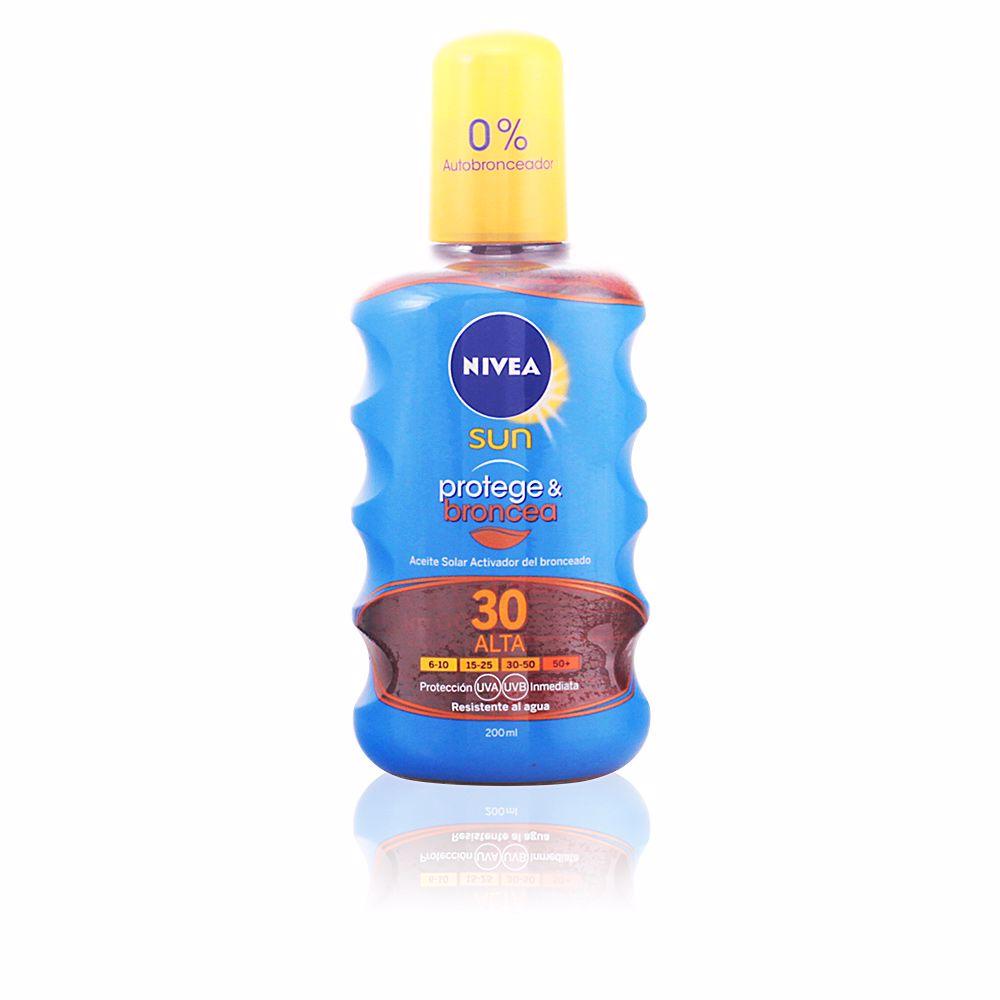 SUN PROTEGE & BRONCEA aceite SPF30 spray