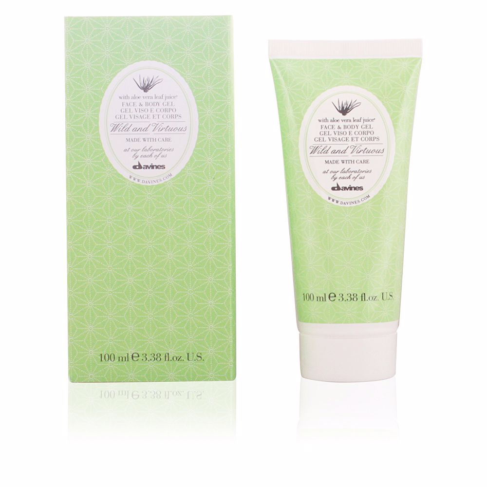 WILD & VIRTUOUS ALOE VERA GEL face and body