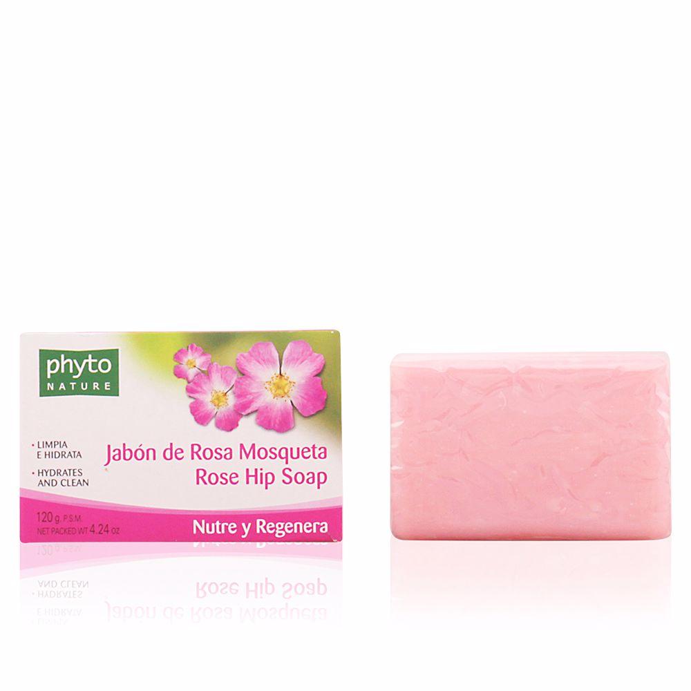 PHYTO NATURE pastilla jabón rosa mosqueta