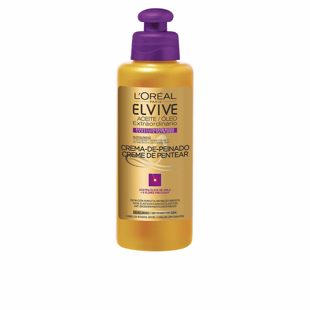 ELVIVE aceite extraordinario crema de peinado rizos