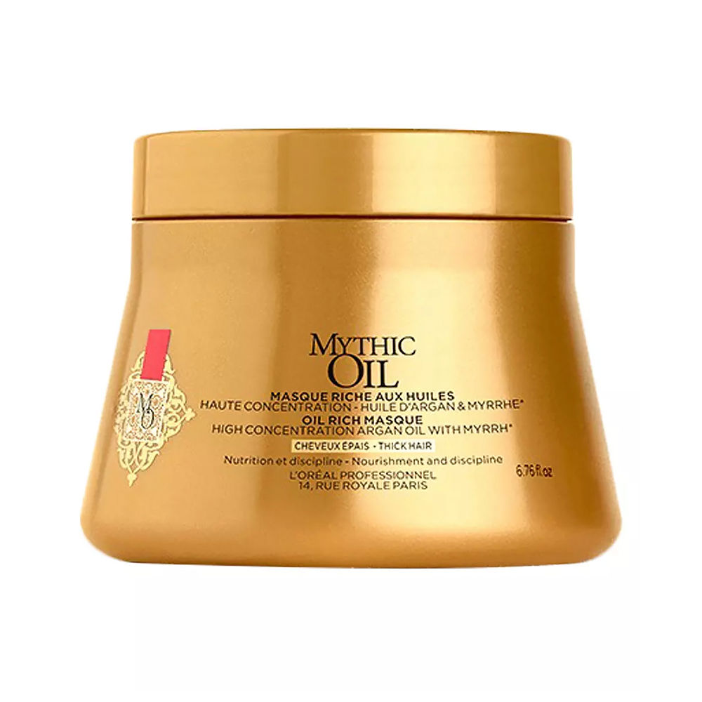 MYTHIC OIL rich mask #thick hair
