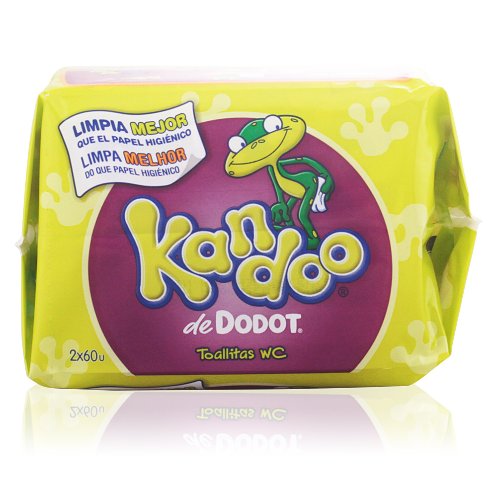 KANDOO toallitas húmedas #melon