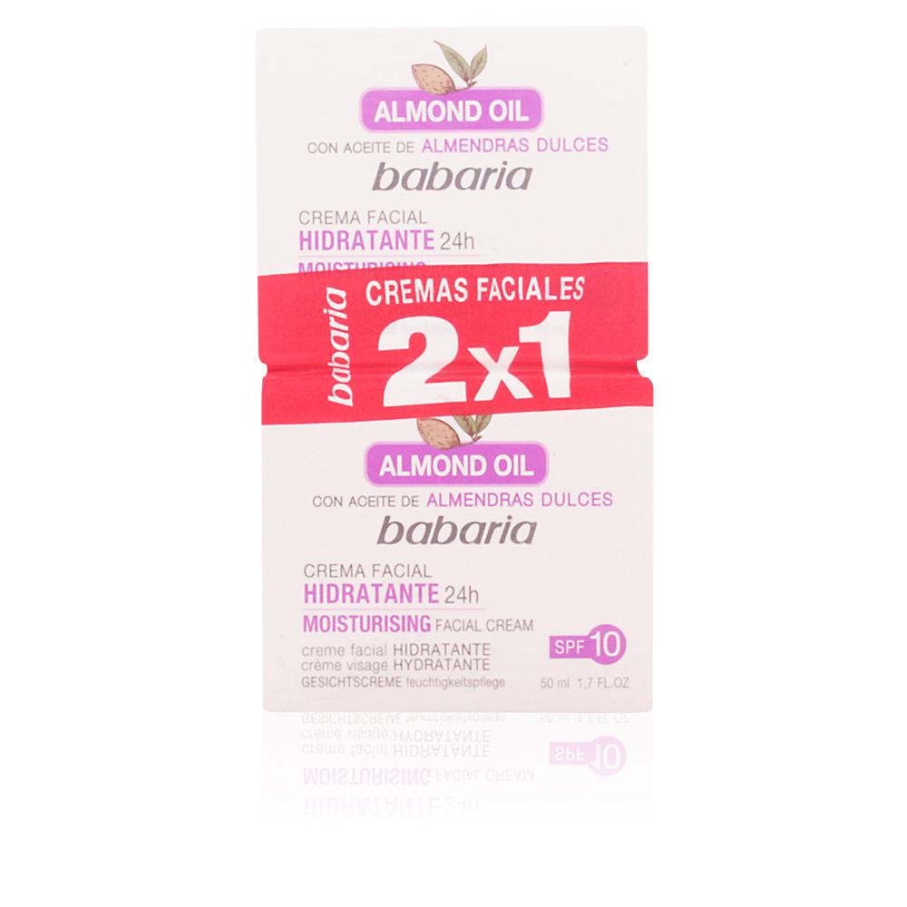 Babaria CREMA FACIAL HIDRATANTE ALMENDRAS LOTE Hidratantes y ... d586f9f072c