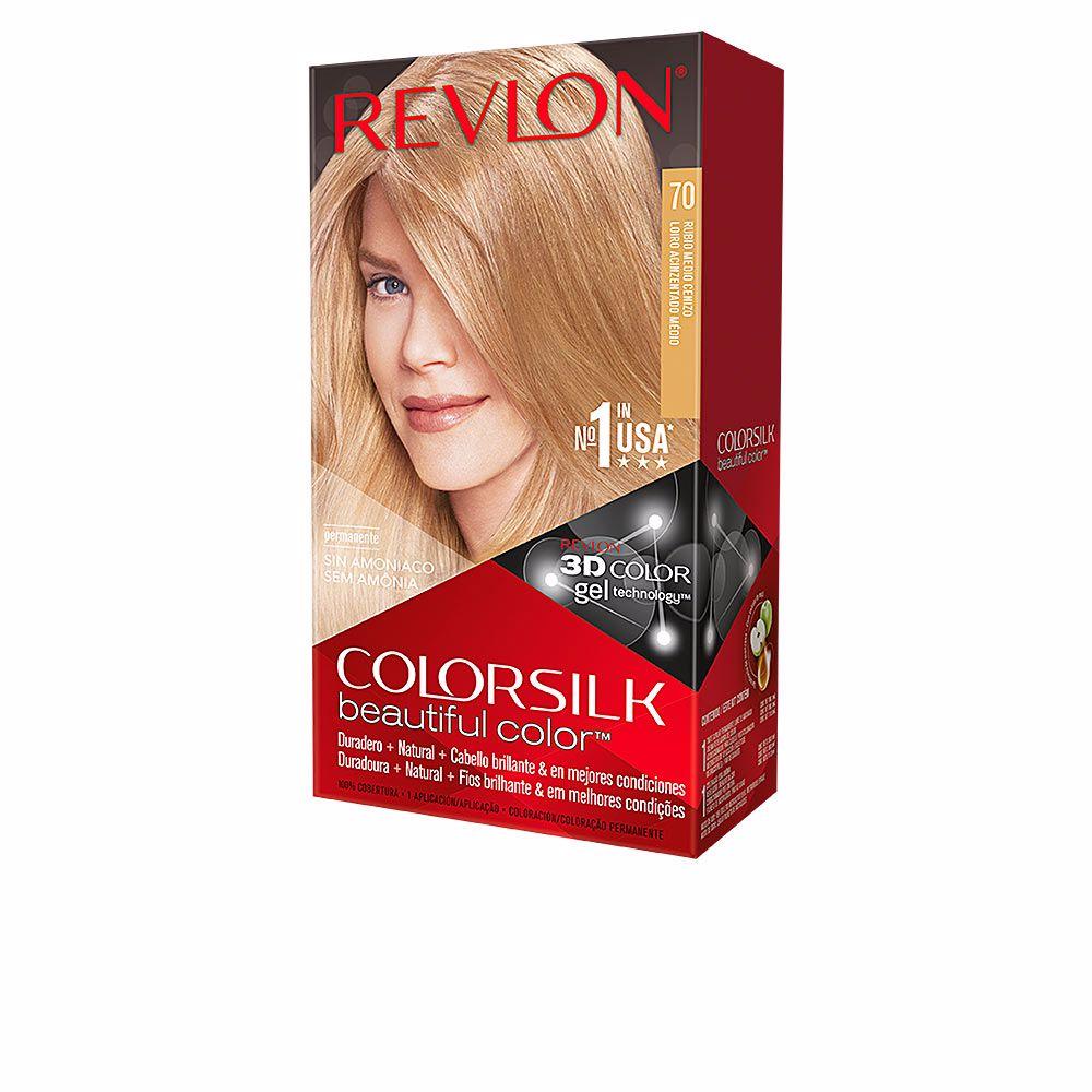 COLORSILK tinte #05-rubio medio cenizo
