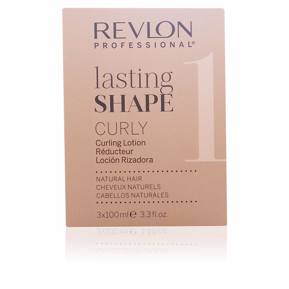 LASTING SHAPE curling lotion sensitised hair