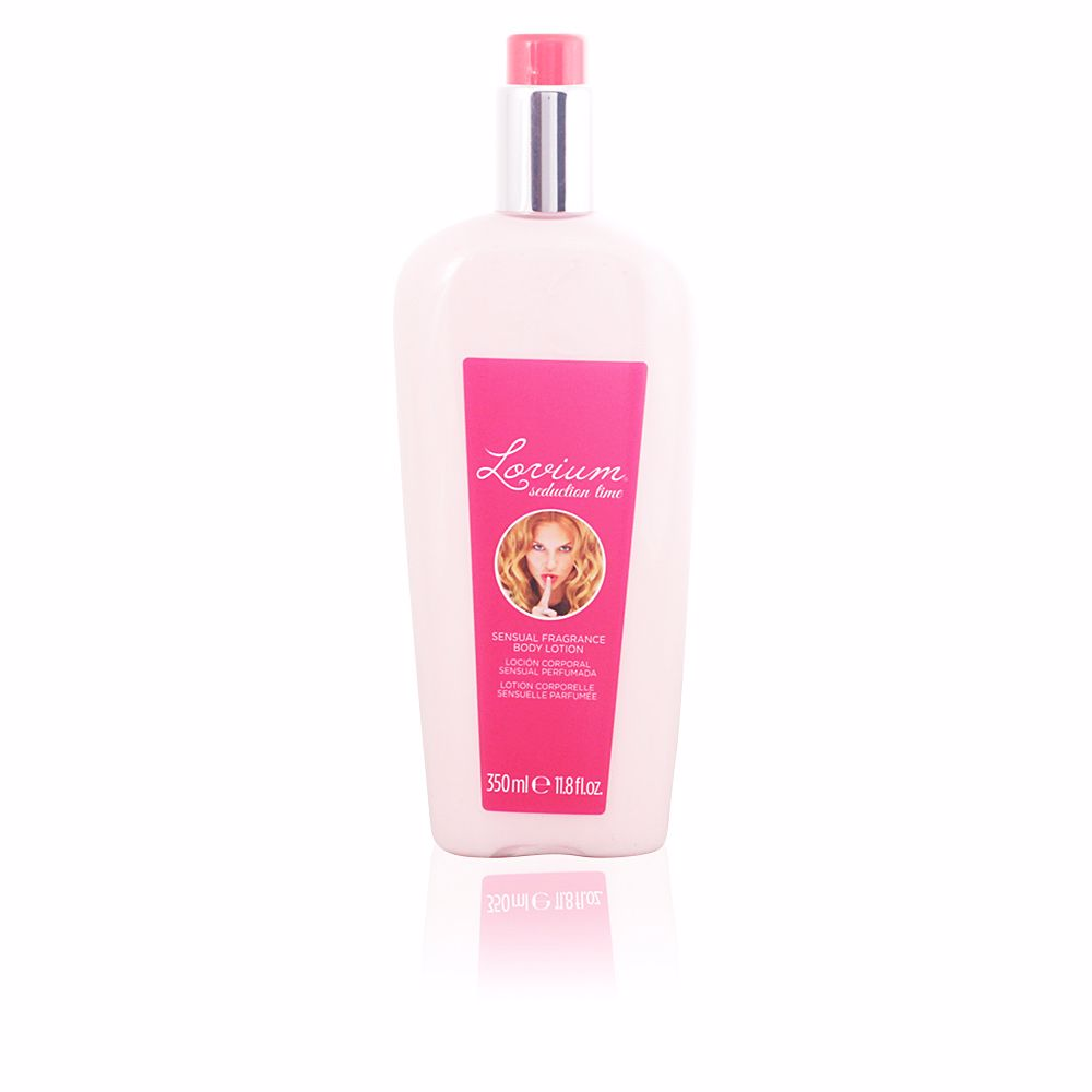 SEDUCTION TIME sensual fragrance body lotion