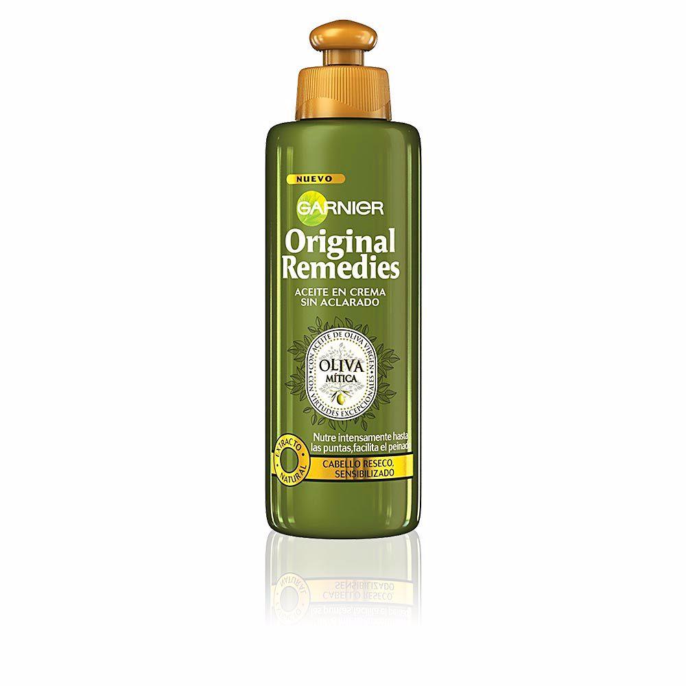 ORIGINAL REMEDIES crema sin aclarado oliva mítica