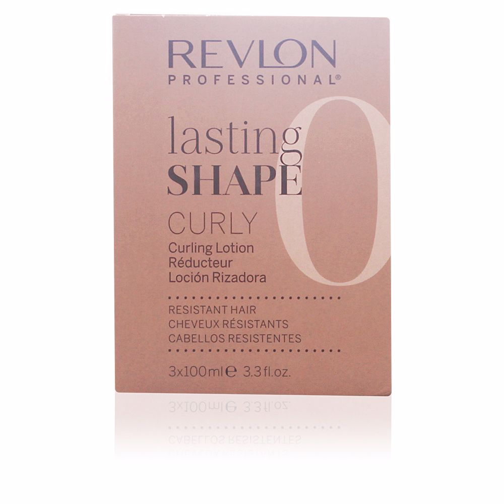 LASTING SHAPE curling lotion resistent hair