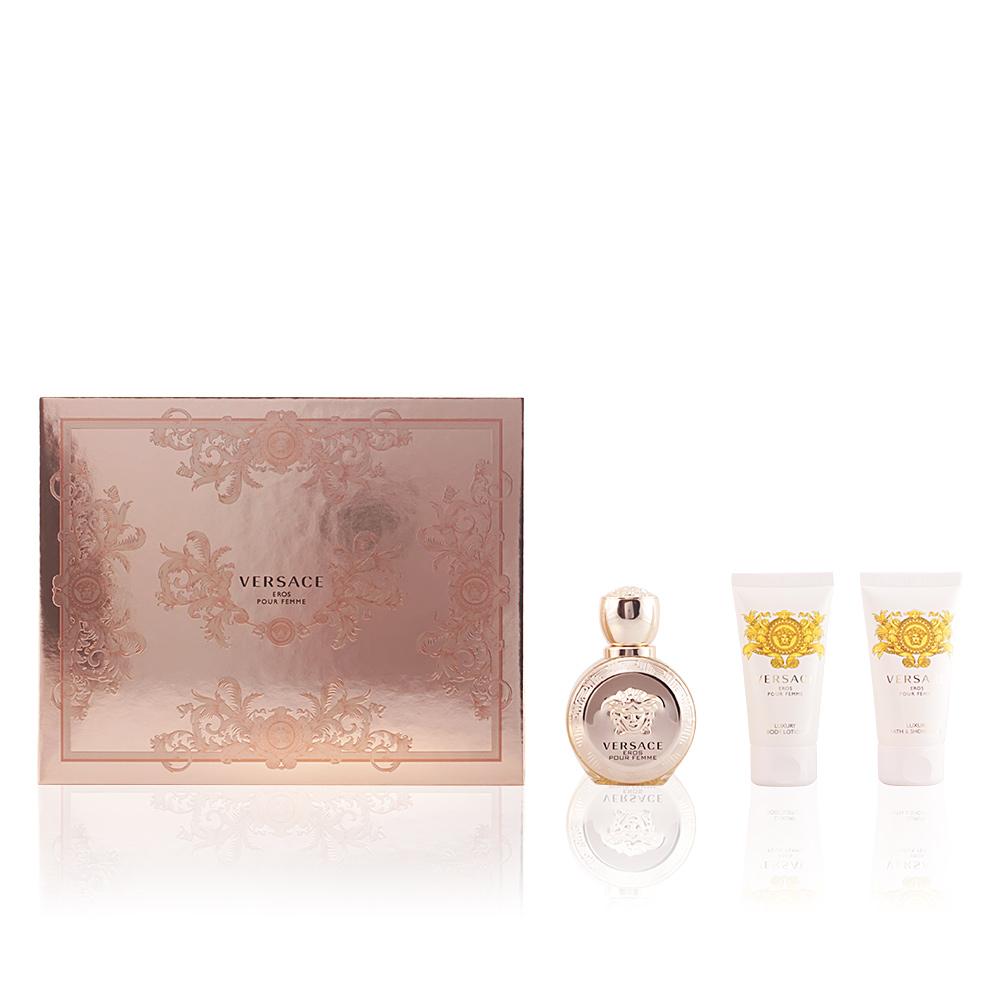 Versace Eau De Parfum Eros Pour Femme Coffret Sur Perfumes Club