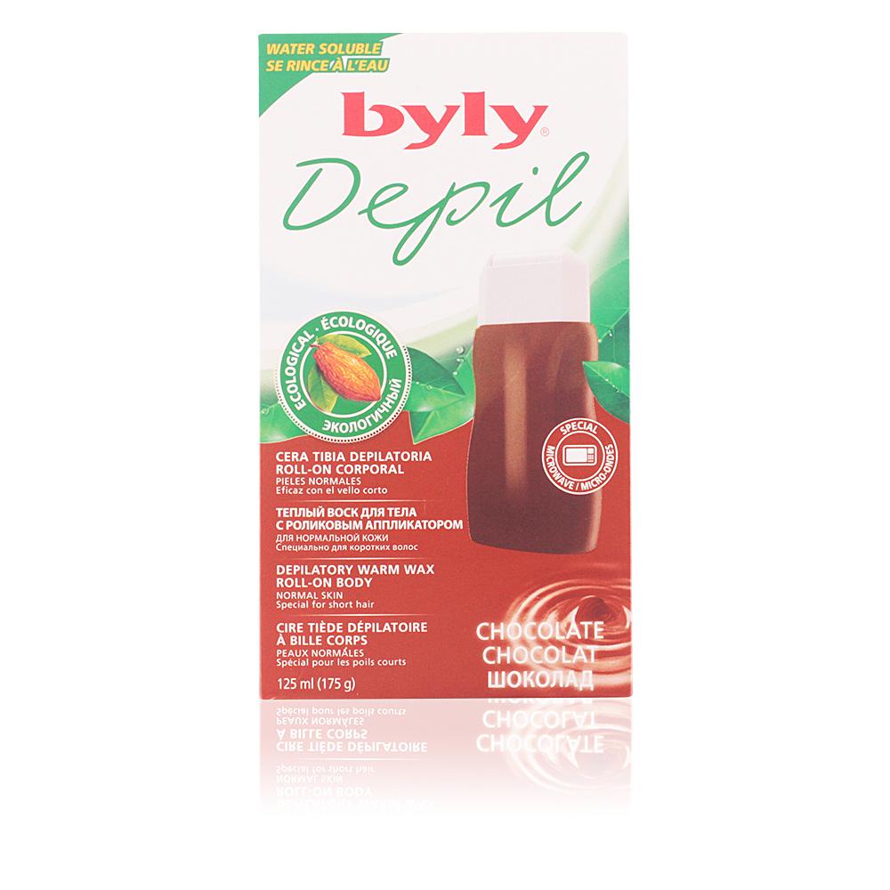 DEPIL cera tibia depilatoria roll-on corporal chocolate