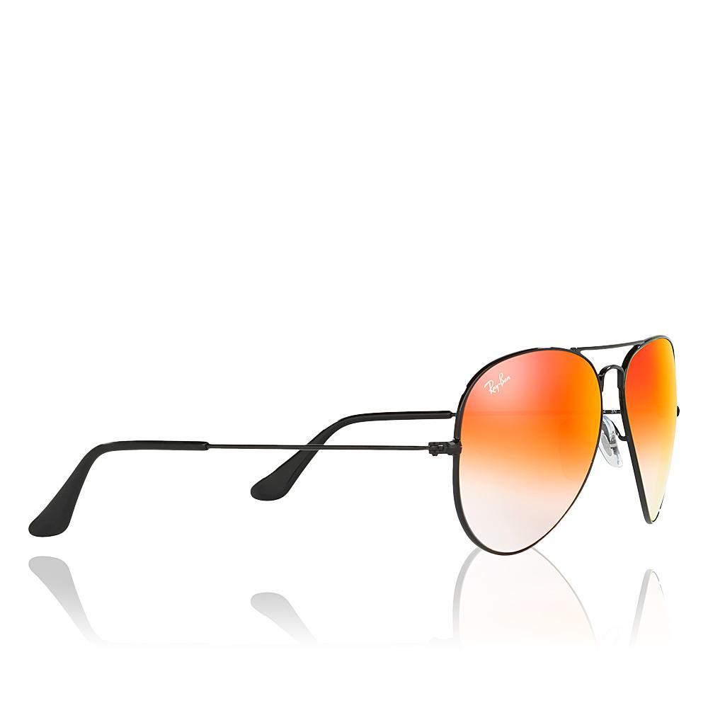 lunette de soleil ray ban noir et orange