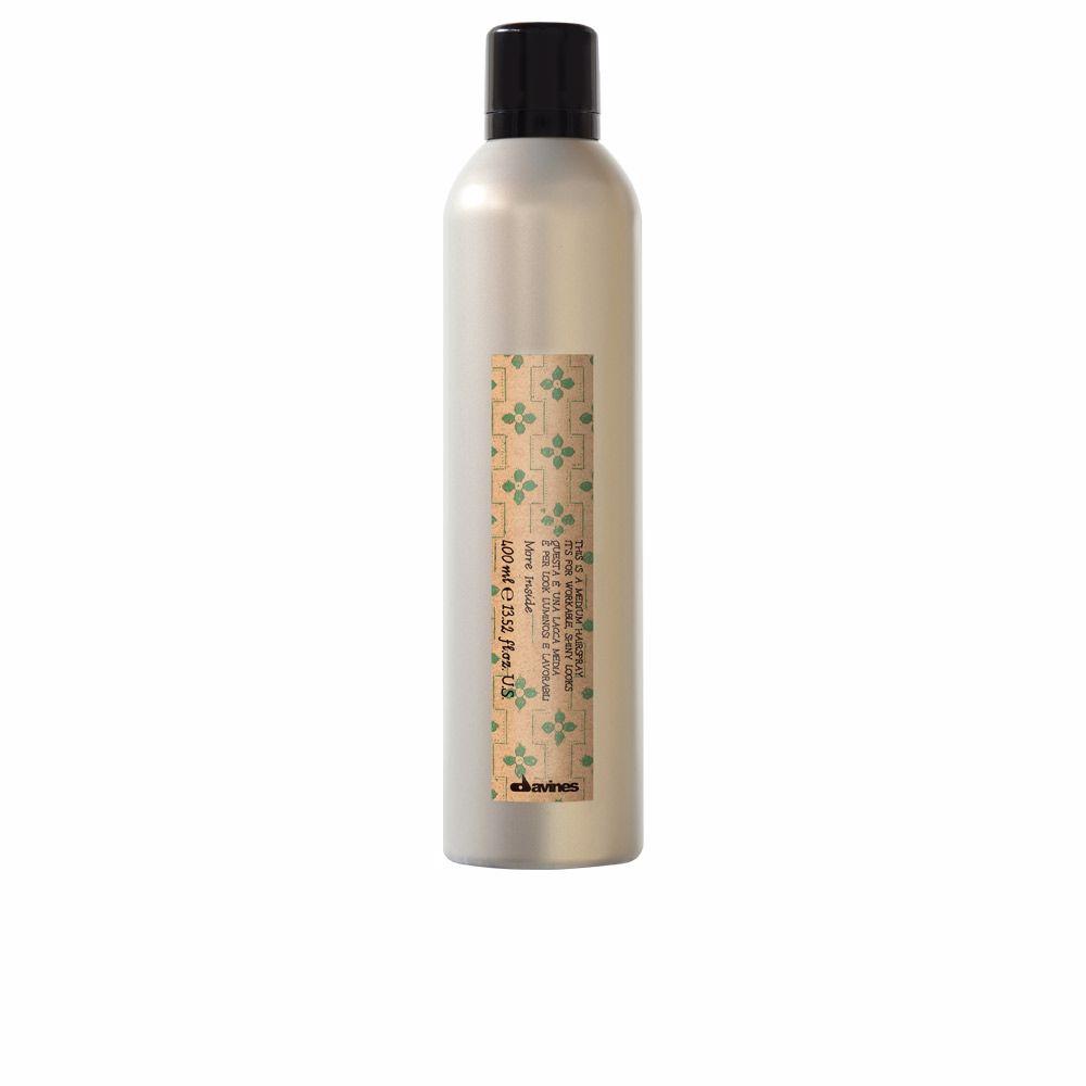 MORE INSIDE medium hold hair-spray