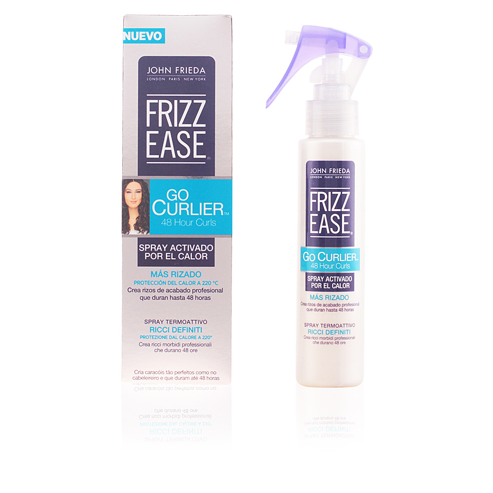 John Frieda Fixation et Finition FRIZZ-EASE Go curlier Spray boucles  rebondies sur Perfume s Club 91a28b3ba3b